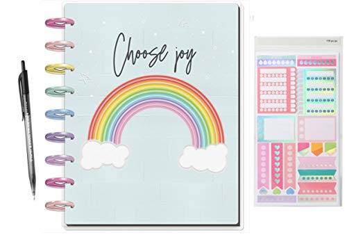 Create 365 18 Month Classic Happy Planner 2019-2020; Sassy Neon Planner Comes with Recollections Stickers and Ink-Joy Pen