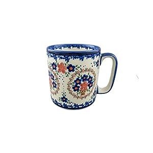 Boleslawiec Style Pottery Hand Painted Polish Ceramic Kubas Mug 055-A-063