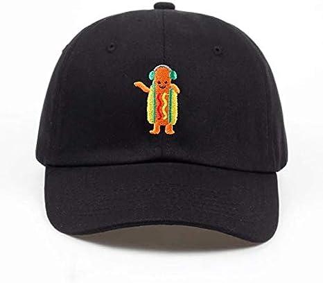 2018 New Hot Dog Embroidered Dad Hat Summer Men Women Fashion Baseball Cap Adjustable Hip Hop Snapback Cap Hats