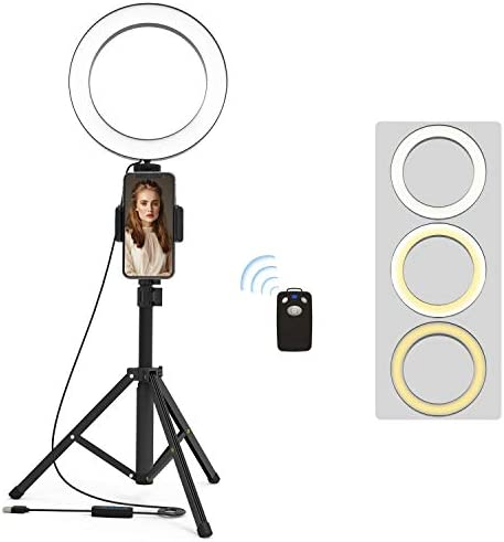 Selfie Tripod Lighting Photography Vlogging product image