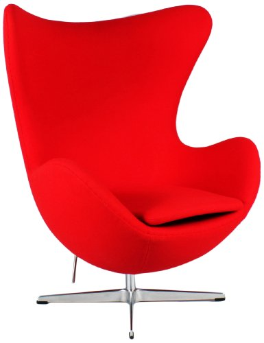 Control Brand Childrens Mid Century Side Chair With Polypropylene/Wood  Eiffel Base By Control Brand