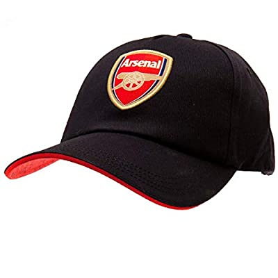 Arsenal FC Navy Blue Baseball Cap with Team Crest in Full Color - Official Product