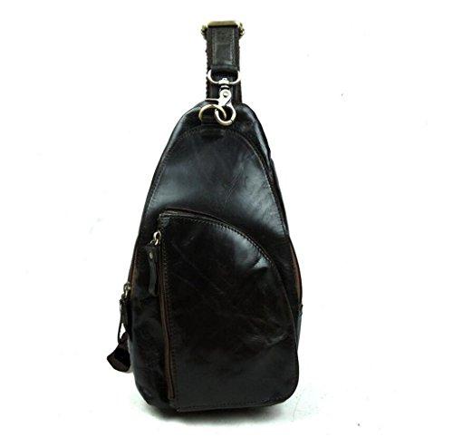® E Vera Bag Spalla Pelle In Zaino 16 Torace Sacchetto Sucastle Spalla 3 Resistente Al Borse Piccolo 5x6x30cm Uomo Pelle FqFdxP