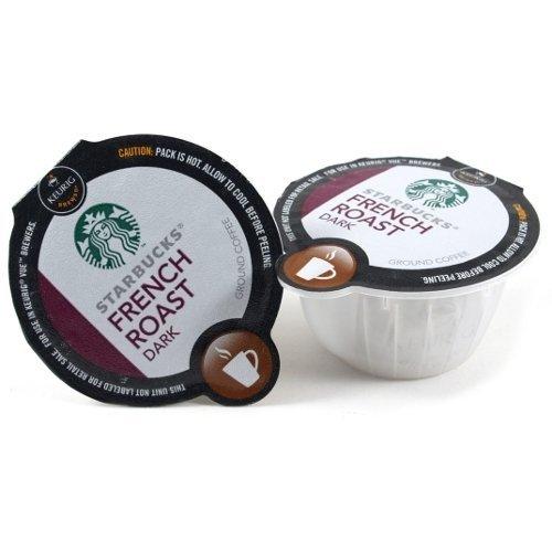 Starbucks Dark French Roast Coffee Keurig Vue Portion Pack, 96 Count by Starbucks