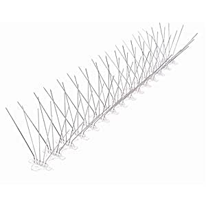 bird spike 5 pins in one row, total 12 rows 48cm
