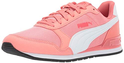 PUMA Unisex ST Runner V2 MESH Kids Sneaker, Shell Pink White, 4 M US Big (Mesh Puma Shoes)