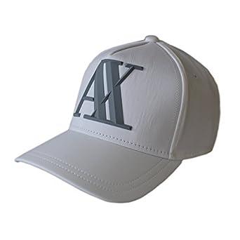 aab8176f728c ARMANI EXCHANGE pour homme casquette baseball   Casquette Golf A X 3D Logo  Orange,