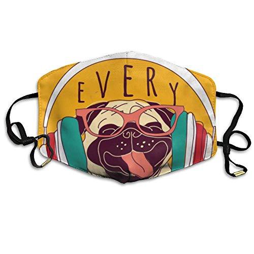 SOADV Mouth Masks Earloop Face Mouth Masks Dustproof Anti-flu Warm Dust Mask Washable Women Flying -