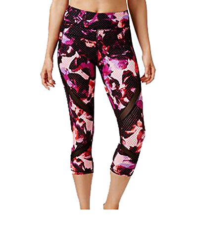 Calvin Klein Performance Womens Stretch Quick Dry Athletic Leggings Multi XS