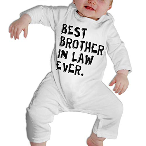 SARA NELL Best Brother in Law Ever Baby Boys & Girls Bodysuit Onesies Long Sleeve