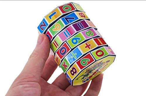 Boys Girls Educational Puzzle Game Intelligent Digital Cube Math Toys Children Kids Mathematics Numbers Magic Cube Toys