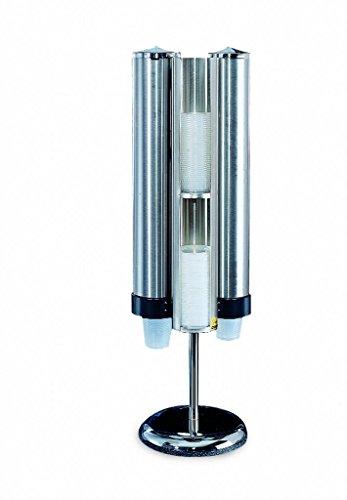 San Jamar C3620 Cup and Lid Dispenser Kit, 12'' Width x 36'' Height x 12'' Depth by San Jamar