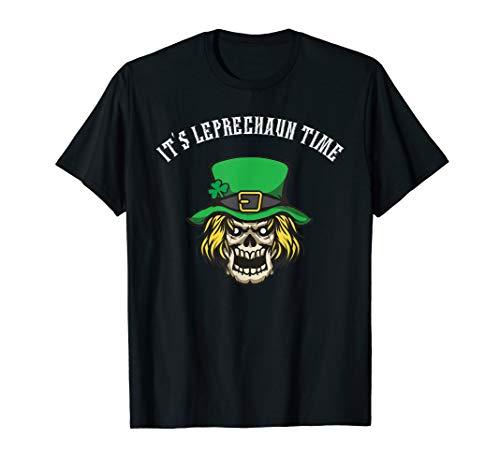 Scary Leprechaun St Patricks Shirt]()