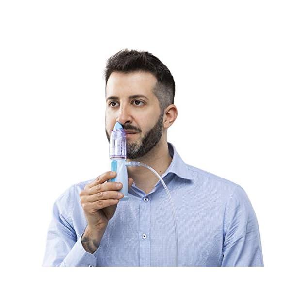Air Liquide Healthcare Rinowash - Doccia Nasale Micronizzata per la Terapia Aerosolica - Nebulizzatore per Aerosol per… 5