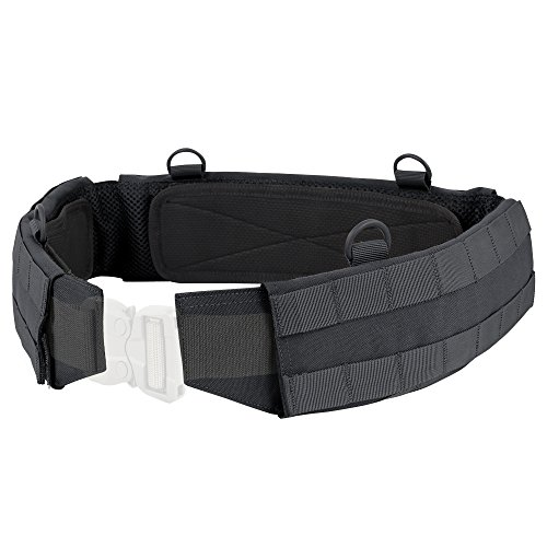 Battle Type - Condor Outdoor Slim Battle Belt (Black, Medium)