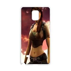 Generic Case Tomb Raider Lara Croft For Samsung Galaxy Note 4 N9100 Q2A7298045