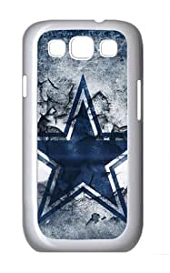 icasepersonalized Personalized Protective Case for Samsung Galaxy S3 I9300 - NFL Sports Dallas Cowboys Logo