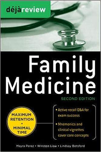 Kết quả hình ảnh cho Deja Review - Family Medicine