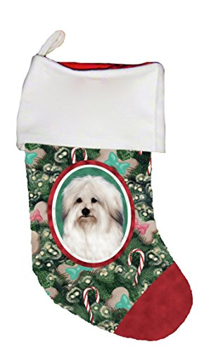 Best of Breed Coton De Tulear Dog Breed Christmas Stocking