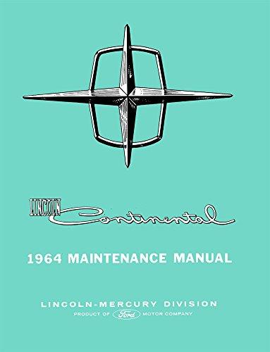 bishko automotive literature 1964 Lincoln Continental Shop Service Repair Manual Book Engine Drivetrain OEM