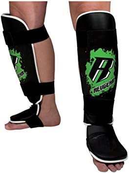 Amazon Com Revgear Youth Combat Series Shin And Instep Guard Boxing And Martial Arts Shin Guards Sports Outdoors