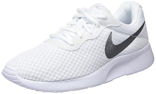 Nike Women's Tanjun -Silver Sneakers White in size US 9