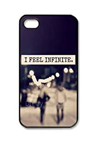 niuniushop iphone 4 case I feel infinite black iphone 4s case