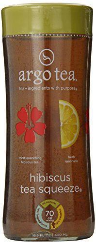 Argo Tea Squeeze Iced Tea, Hibiscus, 13.5 Ounce (Pack of 12)