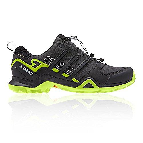 Degli Uomini Di Adidas Terrex Rapida R2 Gtx Il Trekking E Scarpe Da Trekking Basso, Nero, Blu 50,7 Eu (azcere / Negbas / Limsol 000)