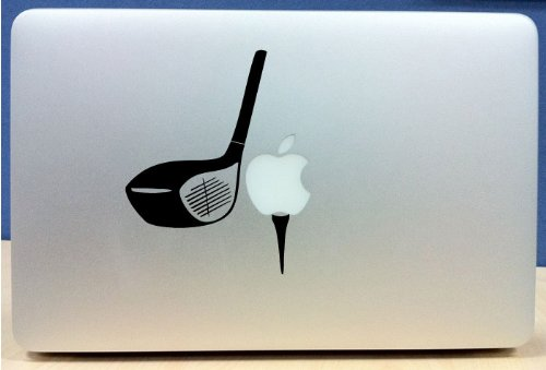 Price comparison product image Golf Club - Vinyl Macbook / Laptop Decal Sticker Graphic