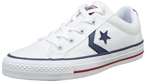 Bianco Blanc Player Sneaker Noir Unisex Canvas Core adulto Ox Adulte Star Converse xzqvRwfw