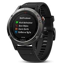Garmin Fenix 5 y 5S - Reloj multideporte, con GPS y medidor de frecuencia cardiaca