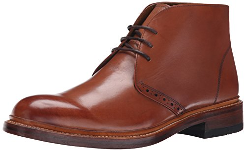 Stacy Adams Hommes Madison Ii-65 Chukka Botte Cognac Lisse