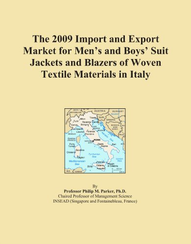 The 2009 Import and Export Market for Men's and Boys' Suit Jackets and Blazers of Woven Textile Materials in (Italy Woven Jacket)