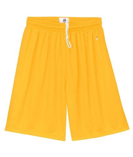 Yellow Athletic Shorts - 8