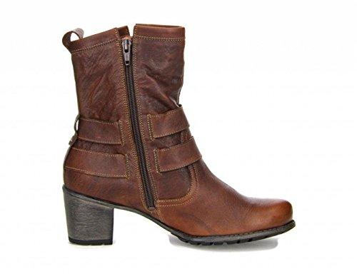 botas para Denga Think 81481 mujer clásicas marrón kombi maroni wOanqCIExn