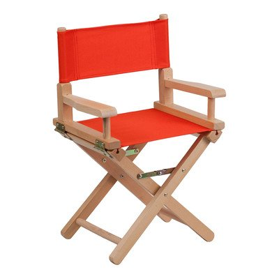 Kids Directors Chair Color: Red