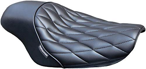 West-Eagle Motorcycle Products H0373 Solo Gunfighter Seat - Diamond ()