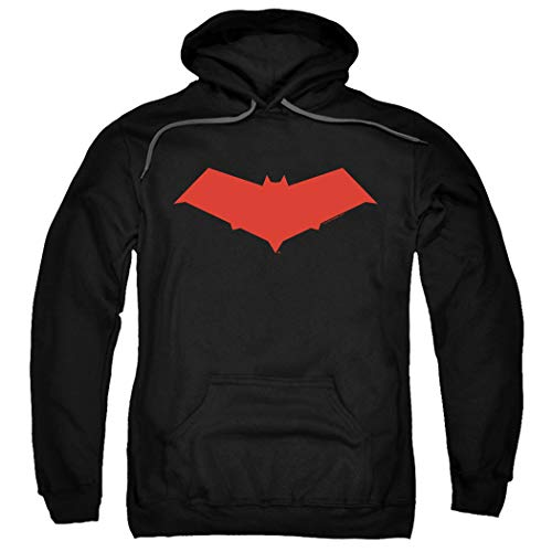 (Red Hood Jason Todd DC Comics Superhero Pullover Hoodie Sweatshirt & Stickers)