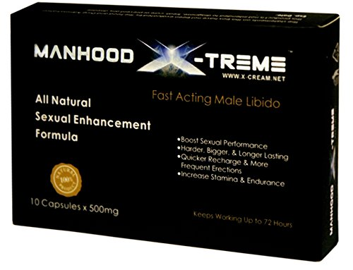 Manhood X-Treme Male Enhancement Pills - Last up to 72 Hours! by Manhood X-Treme