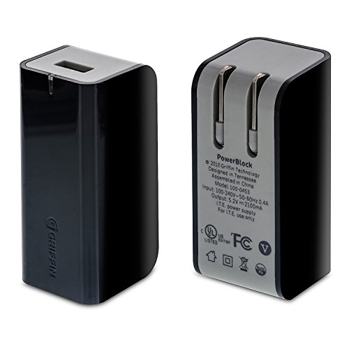 griffin-powerblock-21a-universal-wall-charging-usb-adapter-for-ipad-iphone-galaxy-smartphones-tablet