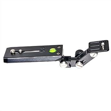 XT-XINTE - Soporte para Lentes de teleobjetivo de 120 mm, Placa Base QR para pájaros y cámaras réflex y trípode Manfrotto: Amazon.es: Informática