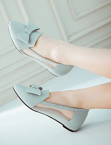 XZZ  Damen-Stiefel-Kleid   Lässig-PU-Flacher Absatz-Flache Schuhe-Blau B01KPZYDTI B01KPZYDTI B01KPZYDTI Sport- & Outdoorschuhe Mode f02b81