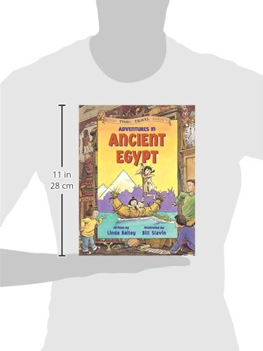 Adventures in Ancient Egypt (Good Times Travel Agency) by Kids Can Press (Image #2)