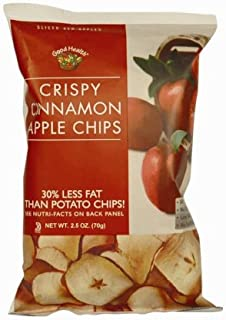 product image for Good Health Crispy Apple Chips, Cinnamon, 2.5-Ounce Bags (Pack of 12)