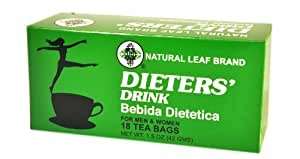 Natural Green Leaf Brand Dieters Drink Review