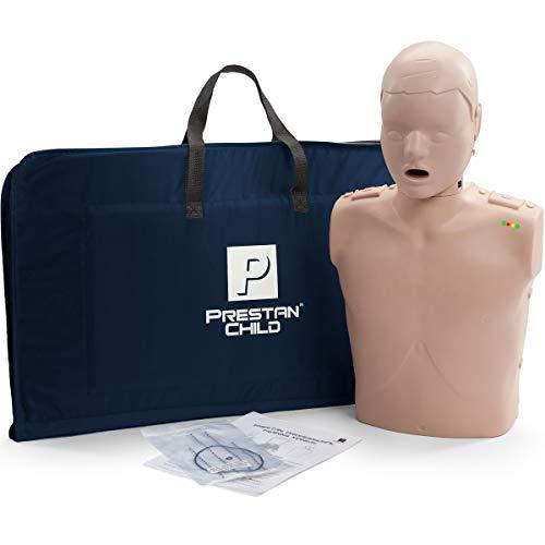 Prestan Child CPR-AED Training Manikin with CPR Monitor Medium Skin