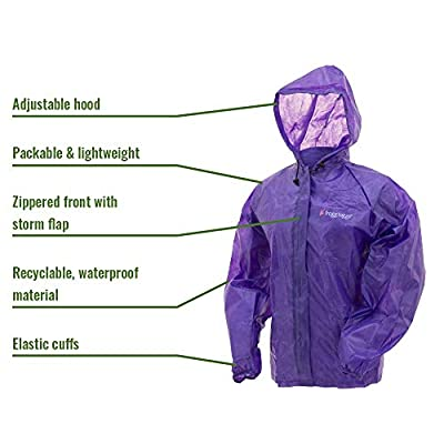 Frogg Toggs Emergency Rain Jacket: Clothing