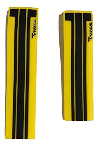 Tissot T-Race/ MotoGP Black Yellow Rubber Band Strap for T048417A or T048427A (T Race Yellow)