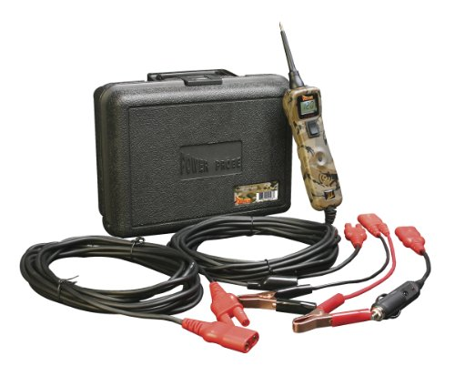 Power Probe III w/Case & Acc - Camo (PP319CAMO) [Car Automotive Diagnostic Test Tool, Digital Volt Meter, AC/DC Current Resistance, Circuit Tester] (Monitoring Probe)